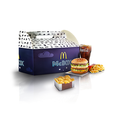 McBox 3 McMenu e 10 Nuggets